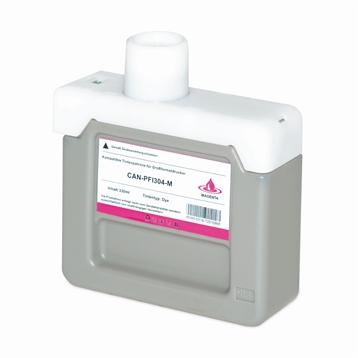 Logic-Seek  Tintenpatrone kompatibel zu Canon PFI-304M 3851B005 XL Magenta