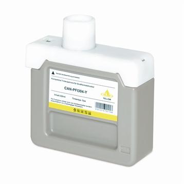 Logic-Seek  Tintenpatrone kompatibel zu Canon PFI-304Y 3852B005 XL Yellow
