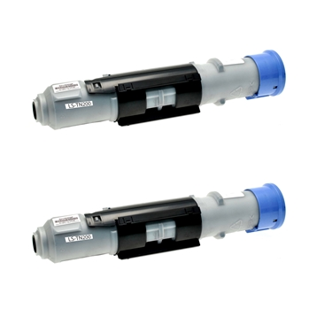 Logic-Seek 2 Toner kompatibel zu Brother TN-200 HC Schwarz