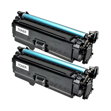 Logic-Seek 2 Toner kompatibel zu Canon Cartridge 723BK 2644B002 HC Schwarz