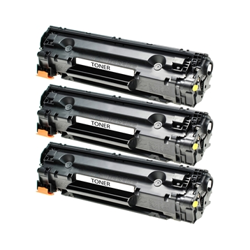 Logic-Seek 3 Toner kompatibel zu Canon Cartridge 725 3484B002 HC Schwarz