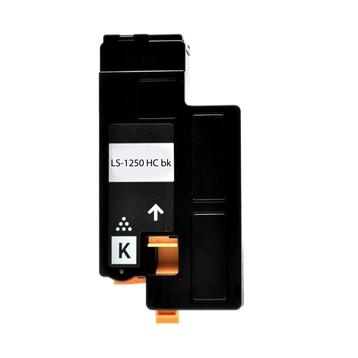 Logic-Seek 2 Toner kompatibel zu Dell 1250 YJDVK 593-11016 HC Schwarz