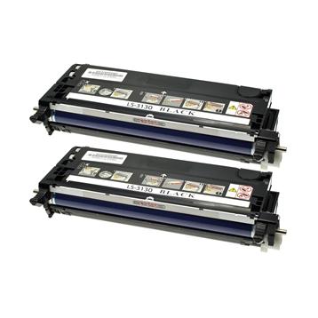 Logic-Seek 2 Toner kompatibel zu Dell 3130 H516C 593-10289 HC Schwarz
