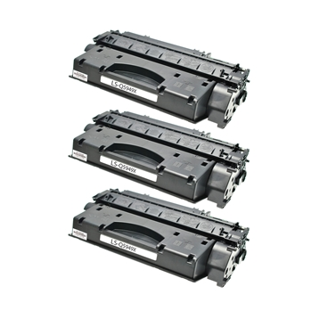 Logic-Seek 3 Toner kompatibel zu HP 49X Q5949X HC Schwarz