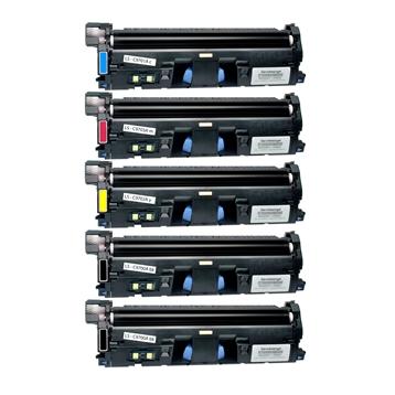 Logic-Seek 5 Toner kompatibel zu HP 1500 / 2500 HC