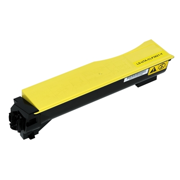 Logic-Seek  Toner kompatibel zu Utax CLP 3621 4462110016 HC Yellow