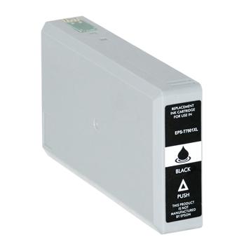 Logic-Seek  Tintenpatrone kompatibel zu Epson Stylus WF4630 79XL C13T79014010 XL Schwarz