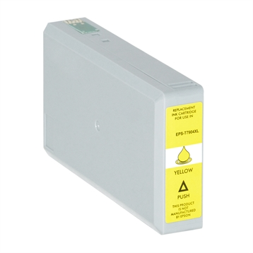 Logic-Seek  Tintenpatrone kompatibel zu Epson Stylus WF4630 79XL C13T79044010 XL Yellow