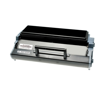 Logic-Seek 2 Toner kompatibel zu Lexmark E321 E323 12A7305 HC Schwarz