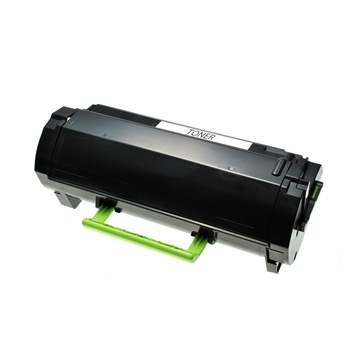 Logic-Seek 3 Toner kompatibel zu Lexmark MX310 MX410 602 60F2000 HC Schwarz