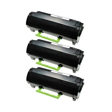 Logic-Seek 3 Toner kompatibel zu Lexmark MX310 MX410 600HA 60F0HA0 HC Schwarz