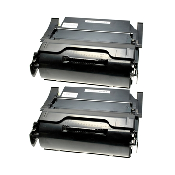 Logic-Seek 2 Toner kompatibel zu Lexmark Optra T650 T652 XL T650H21E UHC Schwarz