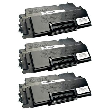 Logic-Seek 3 Toner kompatibel zu Samsung ML-6000 ML-6100 ML-6060D6/ELS HC Schwarz
