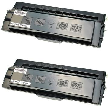 Logic-Seek 2 Toner kompatibel zu Samsung SF-6800 SF-6800D6/ELS HC Schwarz