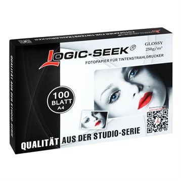 LS Fotopapier 100 Stück A4 Glänzend/Glossy 250g