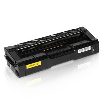 Logic-Seek  Toner kompatibel zu Ricoh Aficio SPC 250 407546 HC Yellow