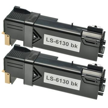 Logic-Seek 2 Toner kompatibel zu Xerox Phaser 6130 106R01281 HC Schwarz