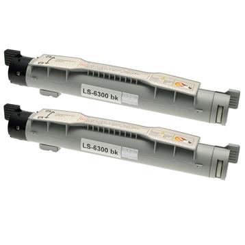 Logic-Seek 2 Toner kompatibel zu Xerox Phaser 6300 106R01085 HC Schwarz