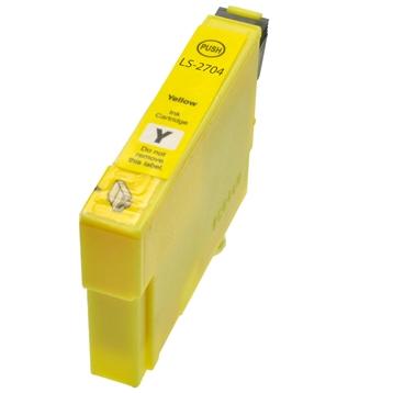 Logic-Seek  Tintenpatrone kompatibel zu Epson Stylus WF3620 27 C13T27044010 XL Yellow