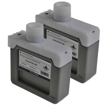 Logic-Seek 2 Tintenpatronen kompatibel zu Canon PFI-301BK 1486B001 XL Schwarz