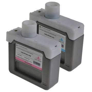 LS 11 Tintenpatronen für Canon PFI301 1x je Farbe