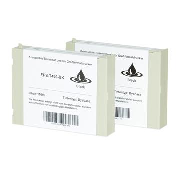 Logic-Seek 2 Tintenpatronen kompatibel zu Epson Pro 7000 T460 C13T460011 XL Schwarz