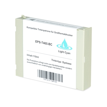 Logic-Seek 2 Tintenpatronen kompatibel zu Epson Pro 7000 T465 C13T465011 XL Hell Cyan