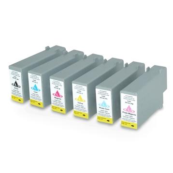 Logic-Seek 6 Tintenpatronen kompatibel zu Canon PFI-101 XL