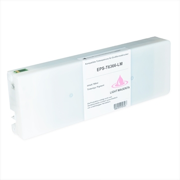 Logic-Seek 2 Tintenpatronen kompatibel zu Epson Pro 7900 9900 T6366 C13T636600 HC Hell Magenta