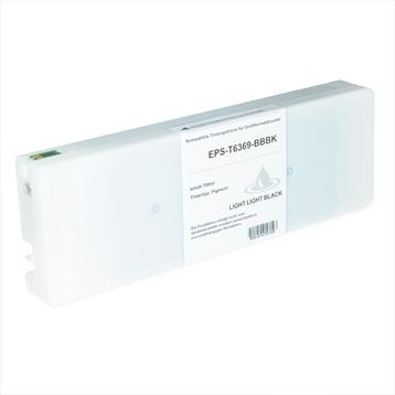 Logic-Seek 2 Tintenpatronen kompatibel zu Epson Pro 7900 9900 T6368 C13T636800 HC Hell Hell Schwarz