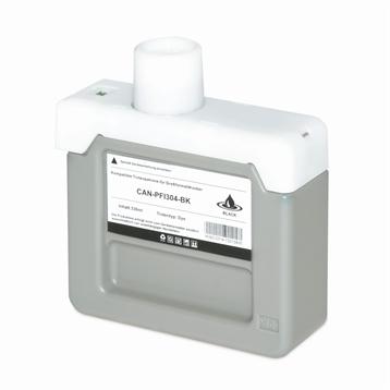 Logic-Seek 2 Tintenpatronen kompatibel zu Canon PFI-304BK 3849B005 XL Schwarz