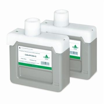 Logic-Seek 2 Tintenpatronen kompatibel zu Canon PFI-304G 3856B005 XL Grün