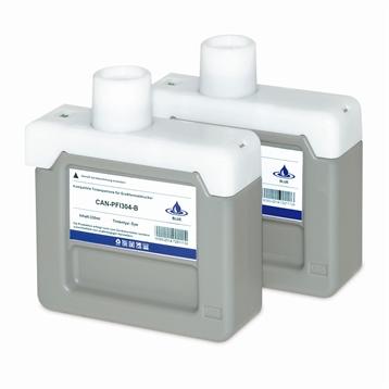 Logic-Seek 2 Tintenpatronen kompatibel zu Canon PFI-304B 3857B005 XL Blau
