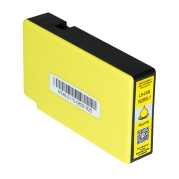 Logic-Seek  Tintenpatrone kompatibel zu Canon PGI-2500XLY 9267B001 XL Yellow