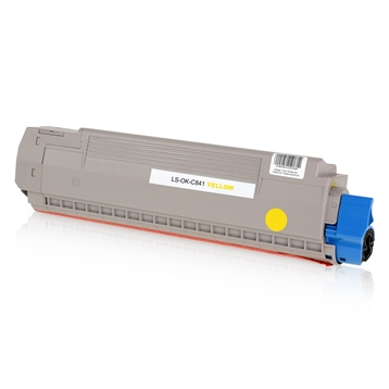 Logic-Seek  Toner kompatibel zu OKI C841 44844505 HC Yellow