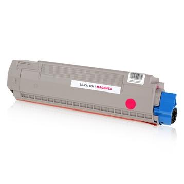 Logic-Seek  Toner kompatibel zu OKI C841 44844506 HC Magenta