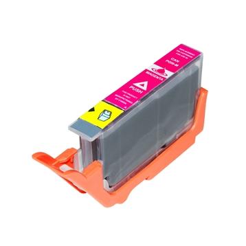 Logic-Seek  Tintenpatrone kompatibel zu Canon PGI-9M 1036B001 XL Magenta