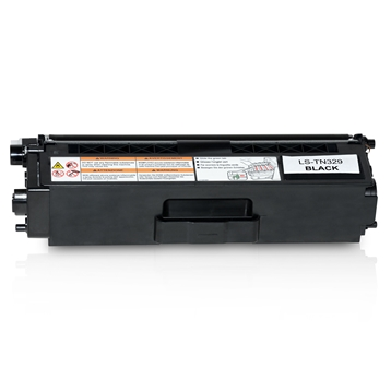 Logic-Seek  Toner kompatibel zu Brother TN-329BK HC Schwarz