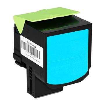Logic-Seek  Toner kompatibel zu Lexmark CS510 700X2 70C0X20 HC Cyan
