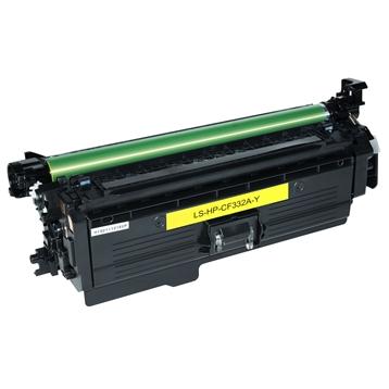 Logic-Seek  Toner kompatibel zu HP 654A CF332A HC Yellow