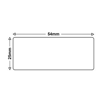 LS 4 Etiketten für Dymo 11352 25x54mm