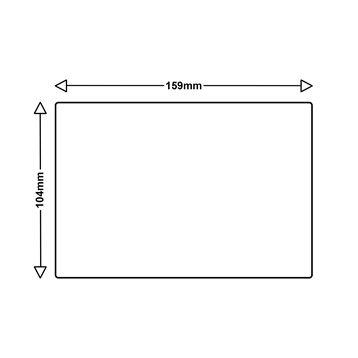 Logic-Seek 10x Etiketten kompatibel zu Dymo S0904980, 104mm x 159mm