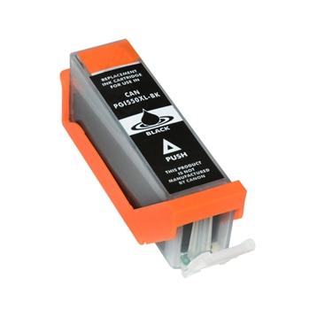 Logic-Seek 5 Tintenpatronen kompatibel zu Canon PGI-550PGBKXL 6431B001 XL Schwarz