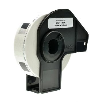 Logic-Seek 10x Etiketten kompatibel zu Brother DK-11204, 17mm x 54mm