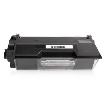 Logic-Seek  Toner kompatibel zu Brother TN-3480 HC Schwarz