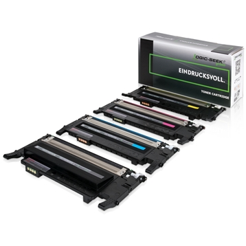 Logic-Seek Green 4 Toner kompatibel zu Samsung CLP-320 HC