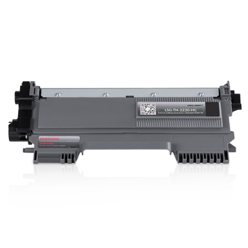 Logic-Seek Green Toner kompatibel zu Brother TN-2220 HC Schwarz