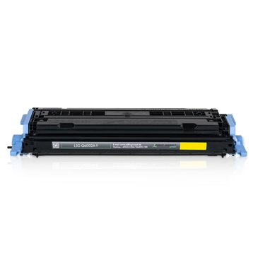 Logic-Seek Green Toner kompatibel zu HP 1600 124A Q6002A HC Yellow