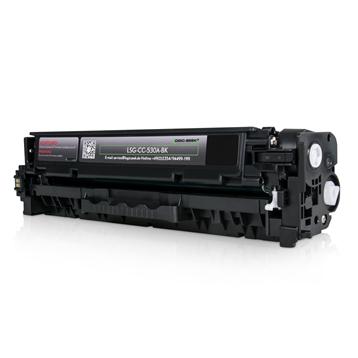 Logic-Seek Green Toner kompatibel zu HP 304A CC530A HC Schwarz