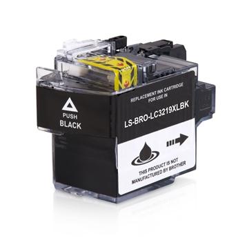 Logic-Seek  Tintenpatrone kompatibel zu Brother LC-3219XLBK XL Schwarz